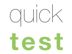Quicktest Cyber Monday